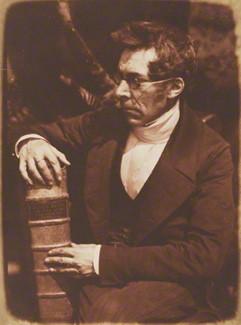 NPG P6(26); Abraham Capadose by David Octavius Hill, and  Robert Adamson