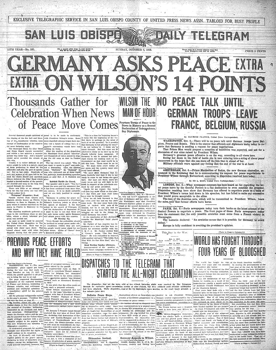 essay on woodrow wilson 14 points Free essays on fourteen points  search wilson's 14 points 14 points woodrow wilson came to presidency as a third party candidate once in office many people had no .