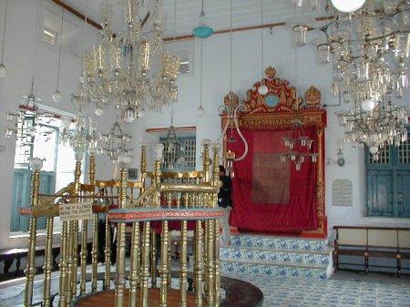 Paradesi Synagogue. Cochin
