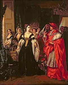 The-Divorce-Of-Henry-VIII-1491-1547-And-Catherine-Of-Aragon
