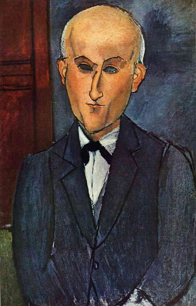 Modigliani's portrait of Max Jacob
