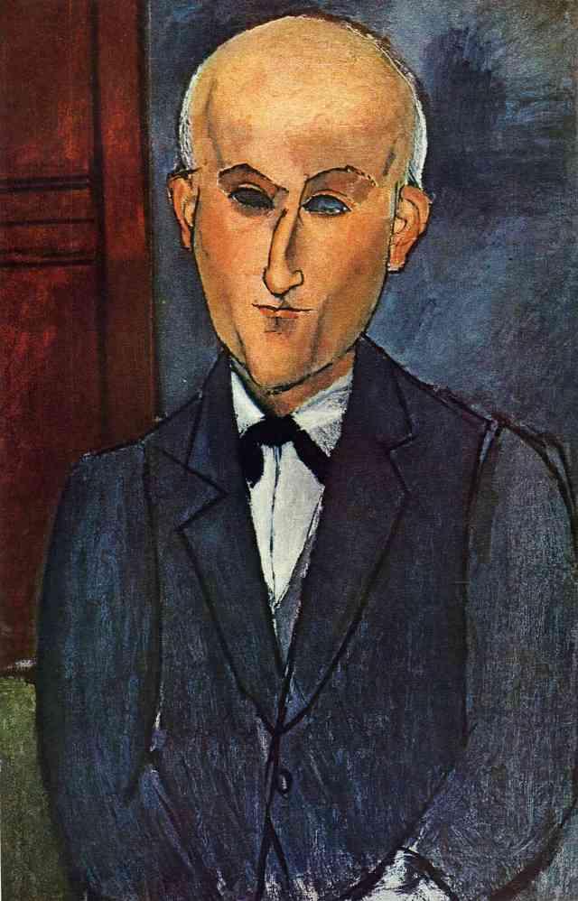Modigliani's portrait of Max Jacob