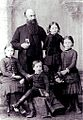 William Hechler and his family