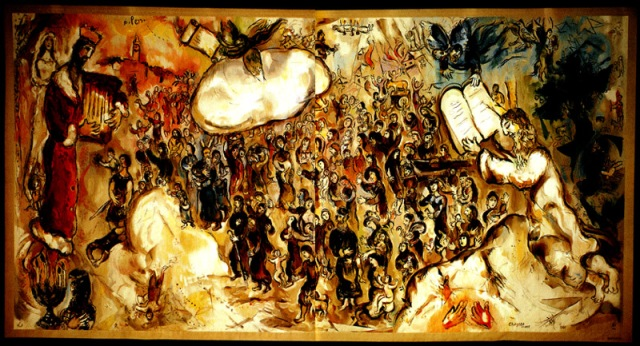 Exodus-by-Marc-Chagall-Knesset-tapestries