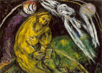 Marc Chagall - Jeremiah 31