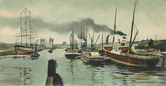 Binnenhaven_Rotterdam_1900