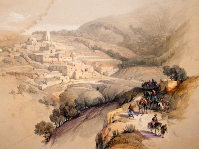 david-roberts-holy-land-deluxe-1840-s-hc-print.-bethany-palestine-[2]-102593-p