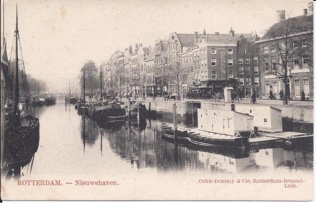 Roeiloods Nieuwehaven Rotterdam 1900