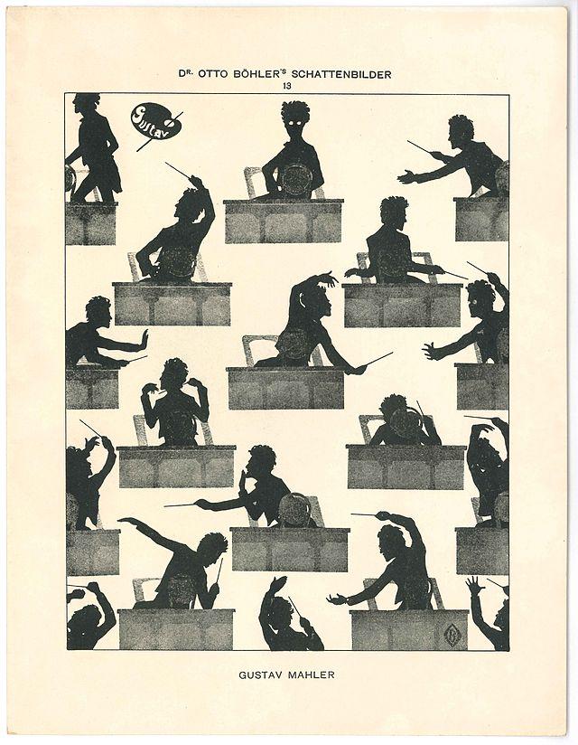 Gustav_Mahler_silhouette_Otto_Böhler