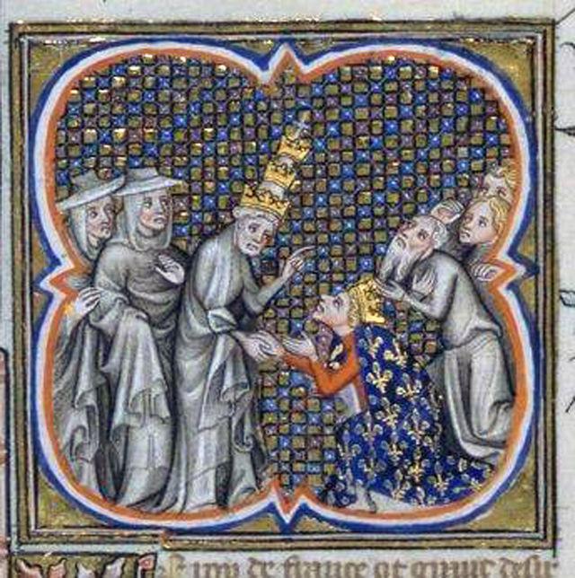 Louis9_Innocentius4_Cluny