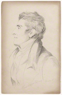 by Mary Dawson Turner (nÈe Palgrave), after  Thomas Phillips, etching, 1823