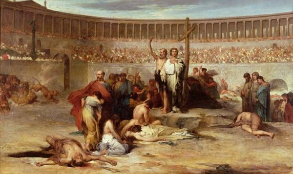 nero-murdered-christian-martyrs