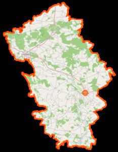 Powiat_węgrowski_location_map