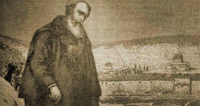 Rabinowitz-on-Mount-of-Olives